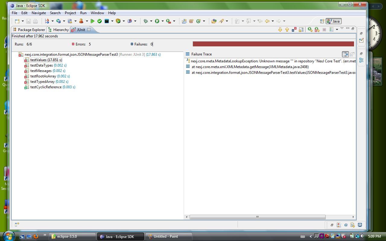 JUnit Stack Trace - CDOT Wiki