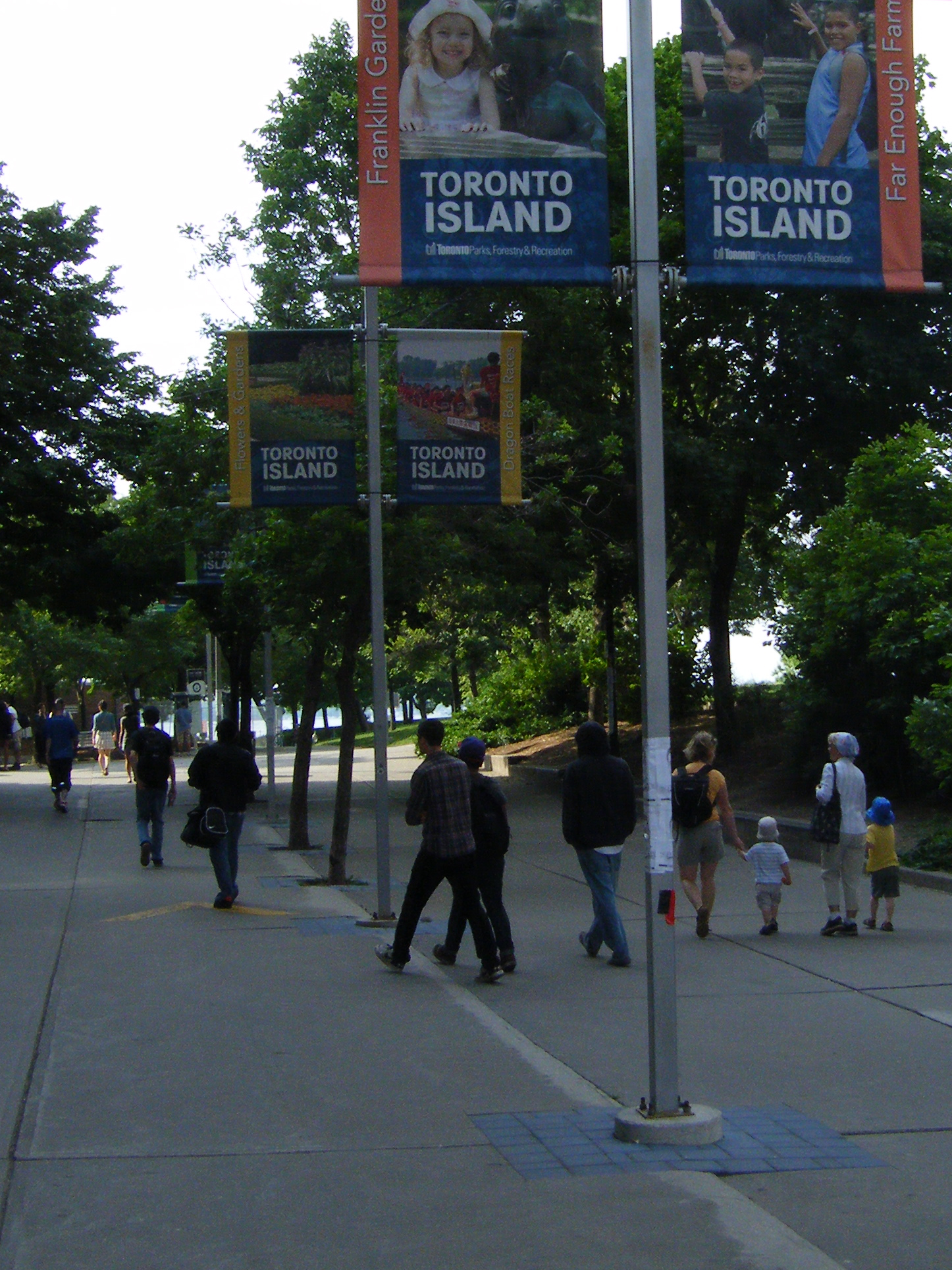 The Road to Toronto Island