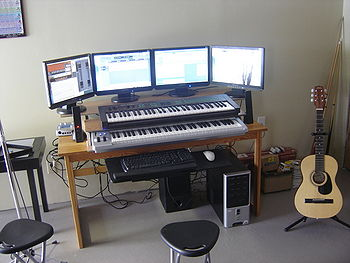 Example of building a recording studio cdot wiki for Meuble home studio