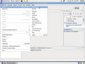 Your First Java Program in Fedora Eclipse - CDOT Wiki